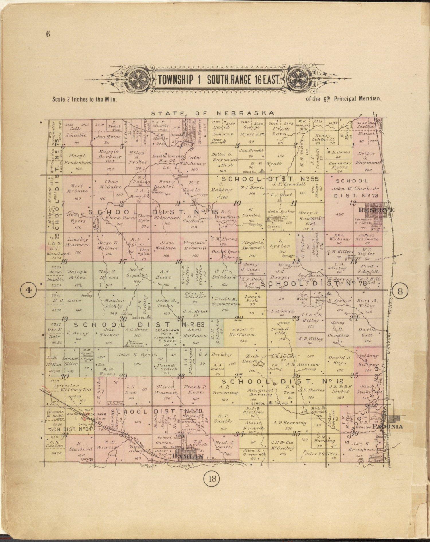 Plat book of Brown County, Kansas - 6