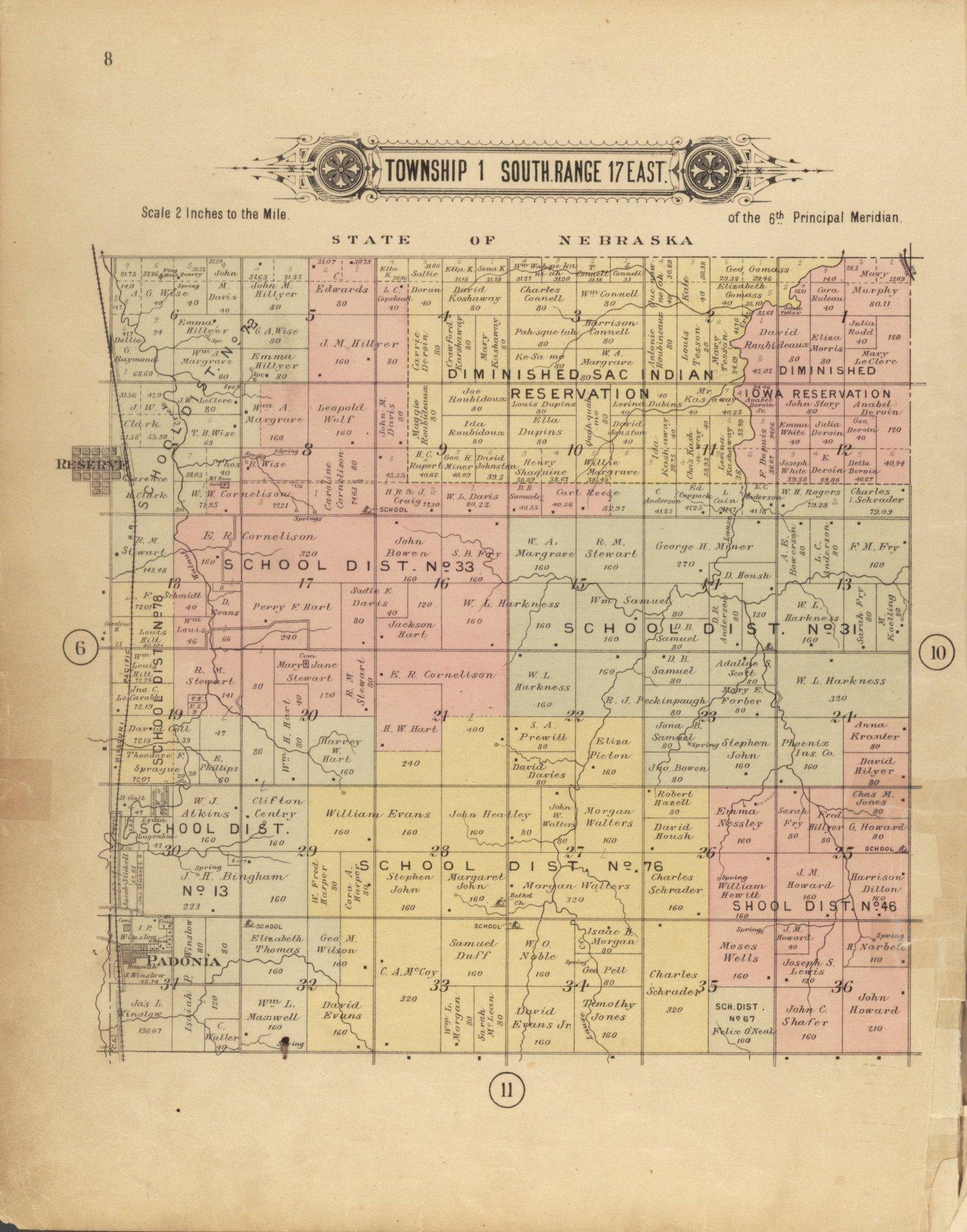 Plat book of Brown County, Kansas - 8