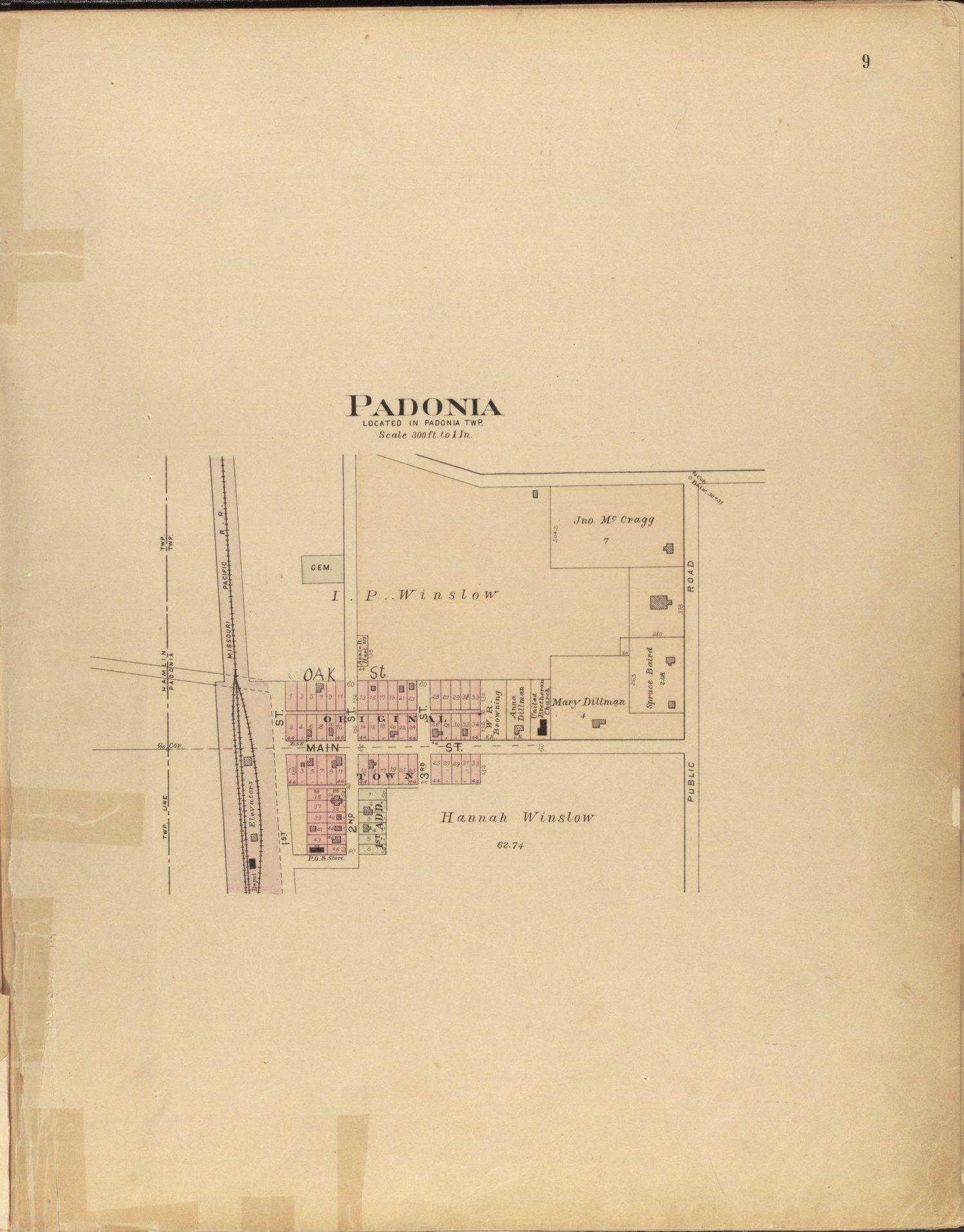 Plat book of Brown County, Kansas - 9