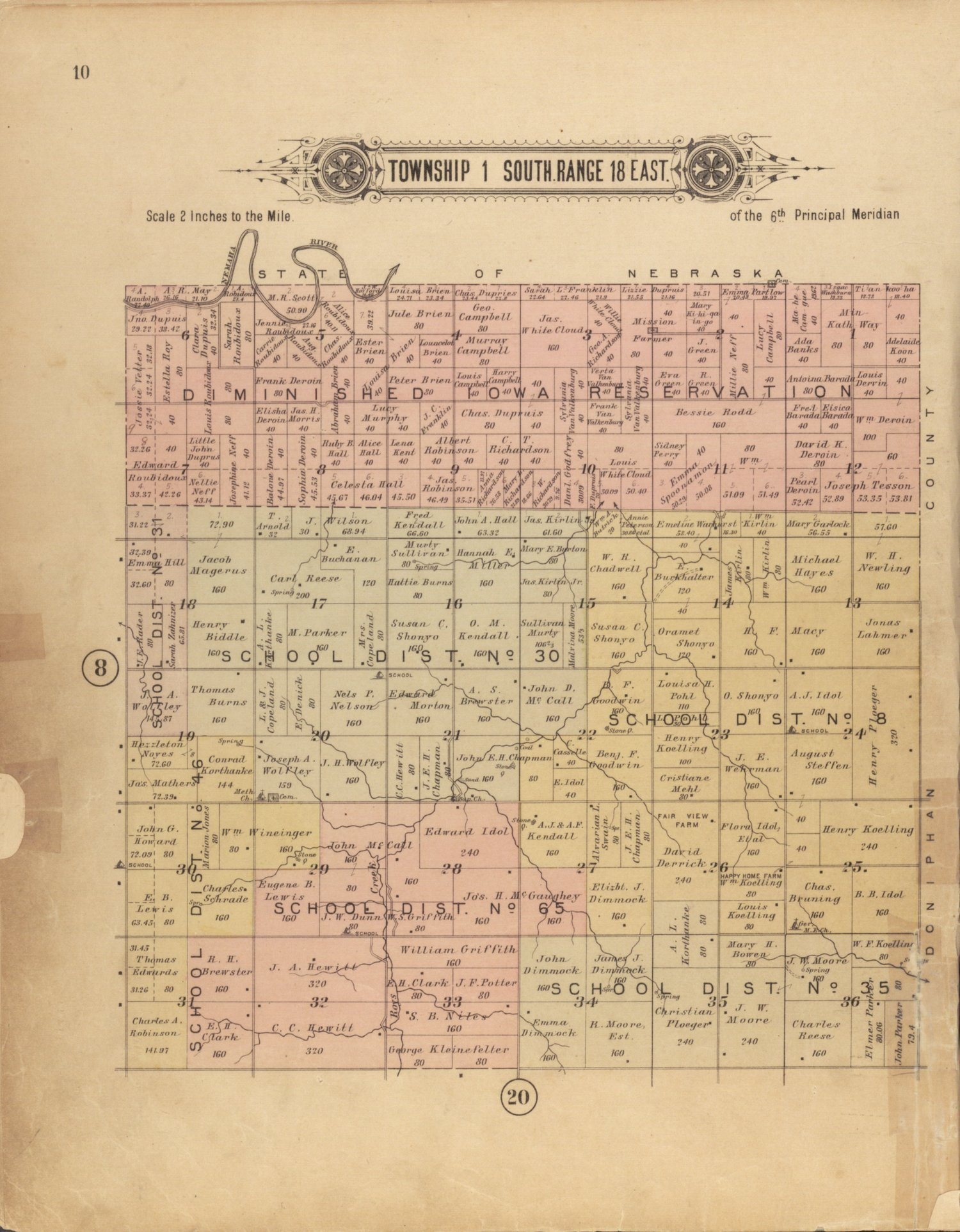 Plat book of Brown County, Kansas - 10