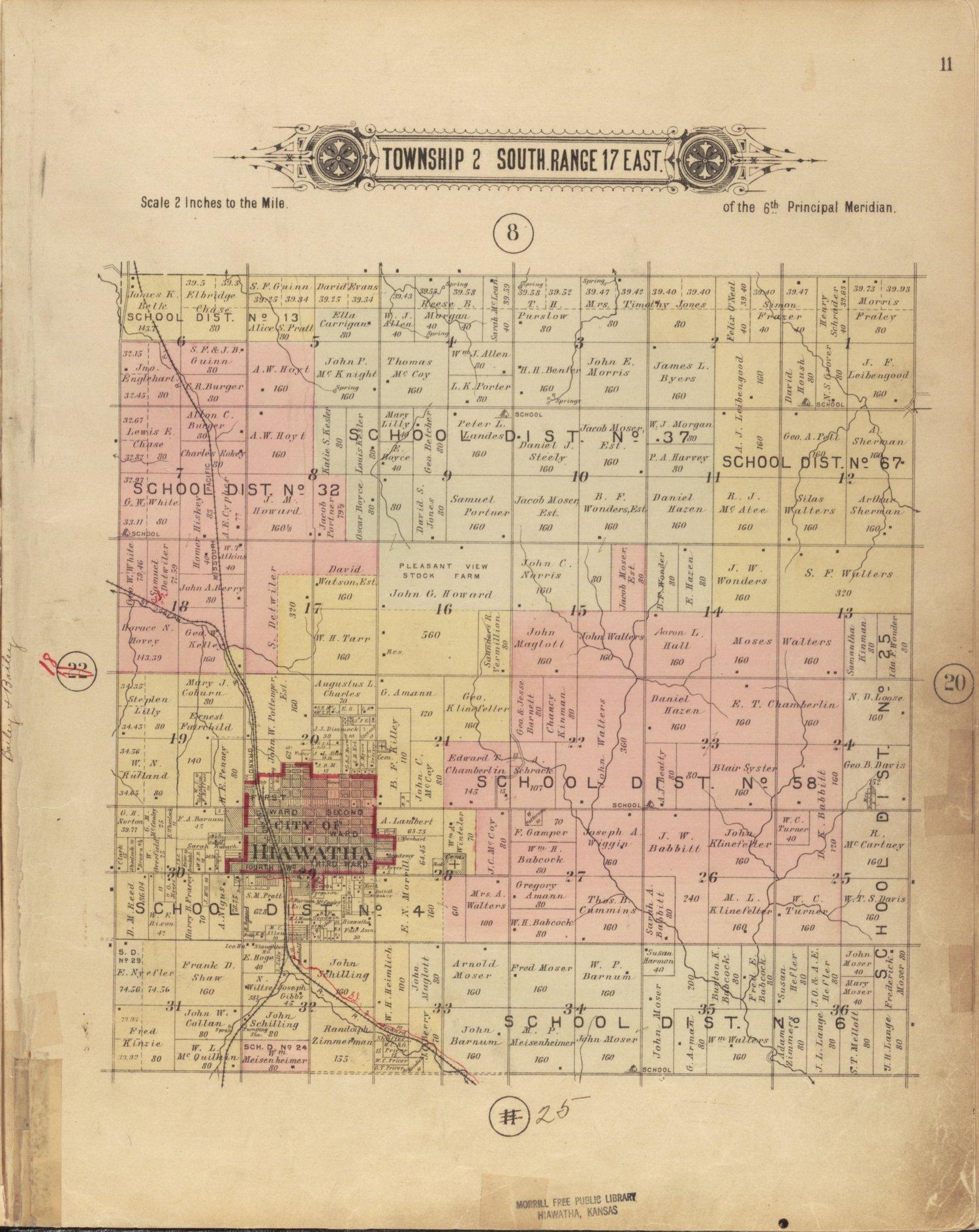 Plat book of Brown County, Kansas - 11
