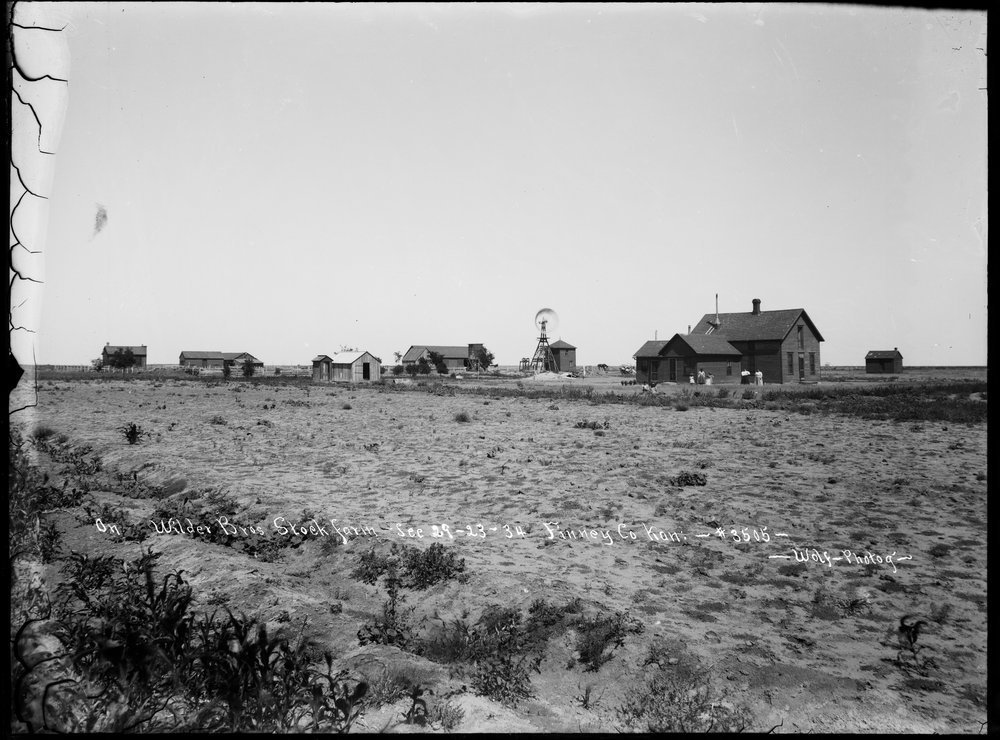 Wilder Brother's stock farm, Finney County, Kansas