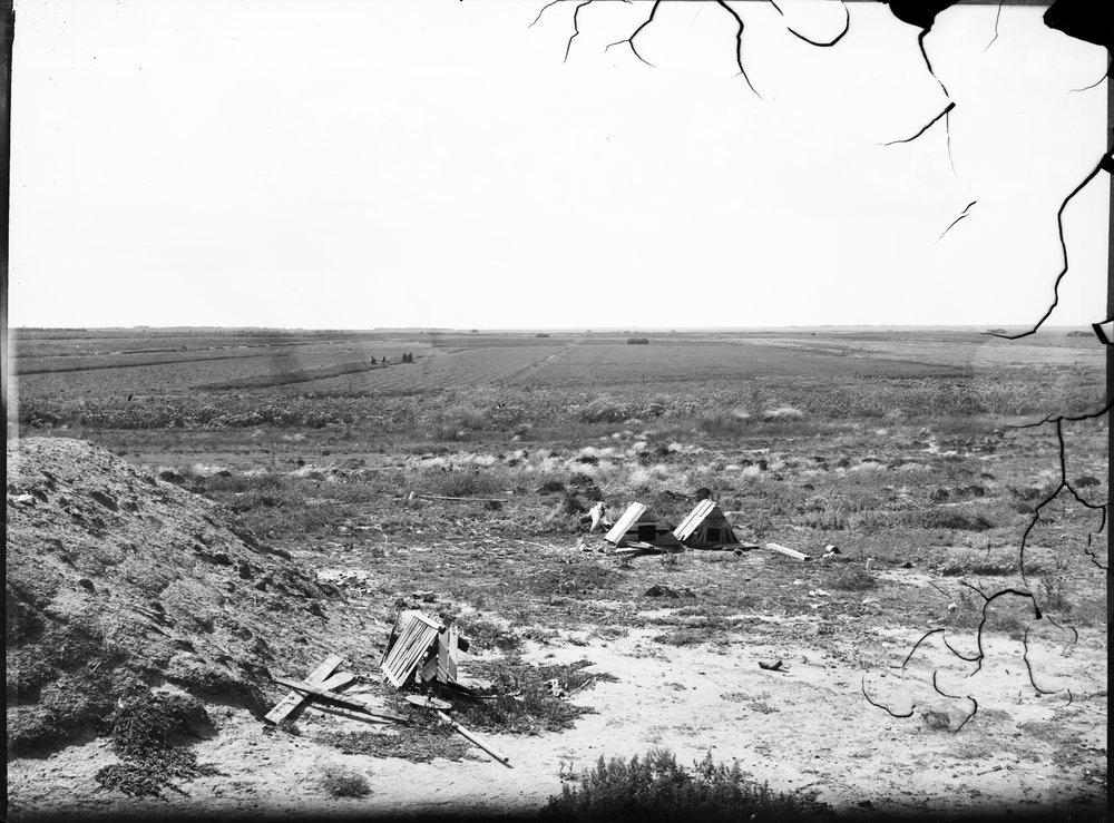 Agricultural scene, Finney County, Kansas