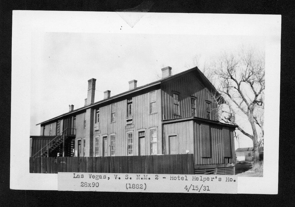 Atchison, Topeka & Santa Fe Railway Company's Fred Harvey dorm, Las Vegas, New Mexico