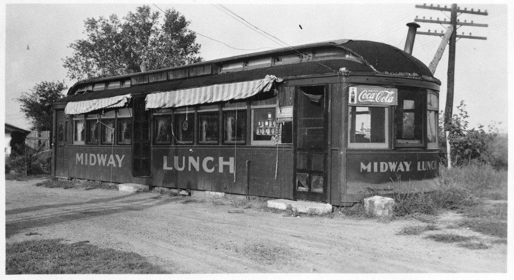Midway lunch car, Manhattan, Kansas