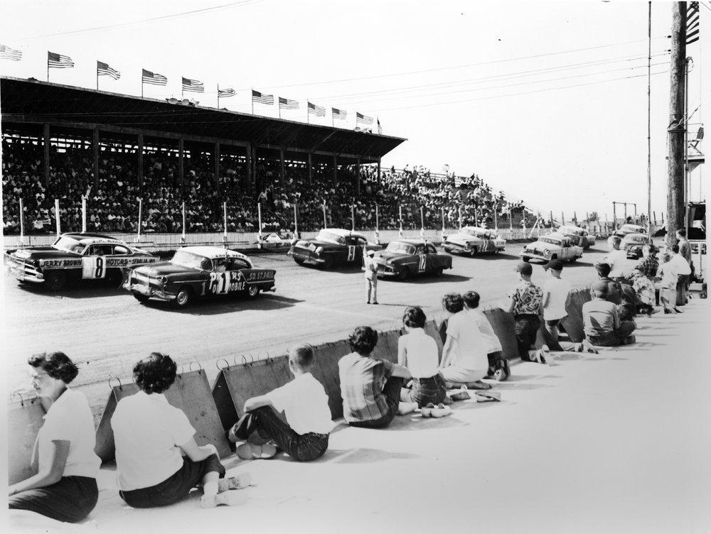 Auto races, Belleville, Kansas