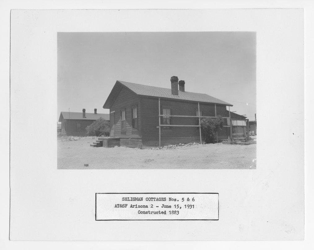 Atchison, Topeka & Santa Fe Railway Company cottages, Seligman, Arizona