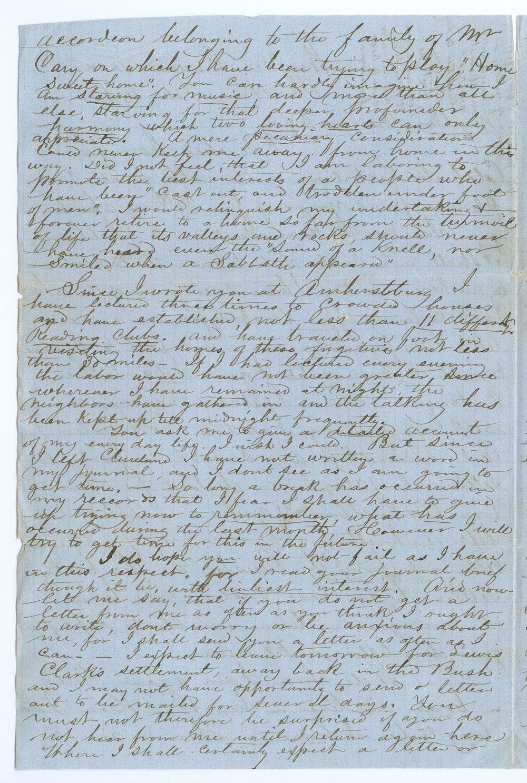 John Brown, Jr. correspondence - 2