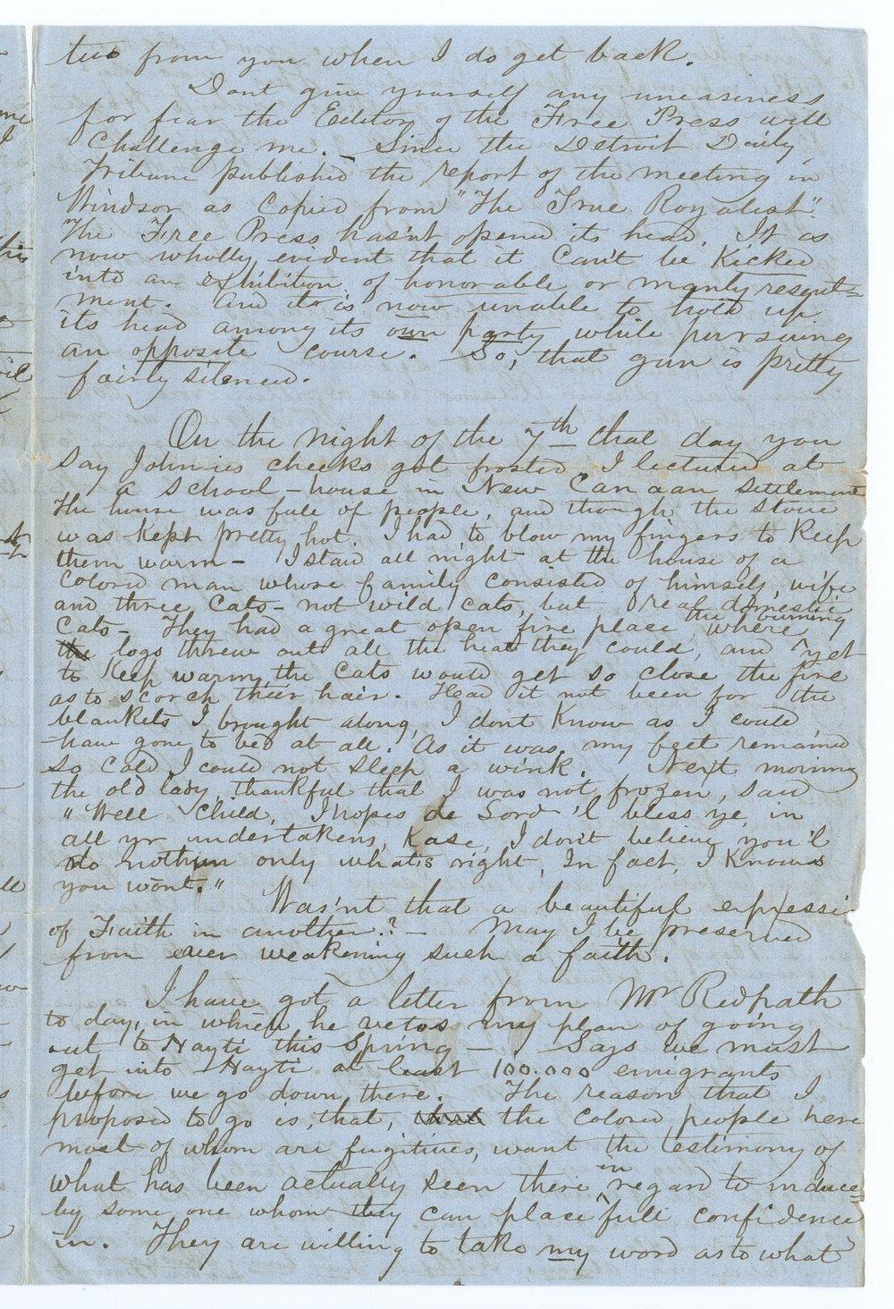 John Brown, Jr. correspondence - 3