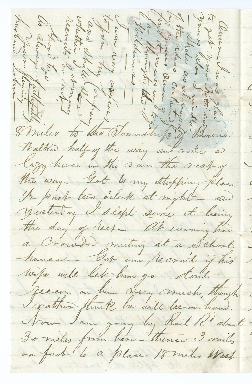 John Brown, Jr. correspondence - 6