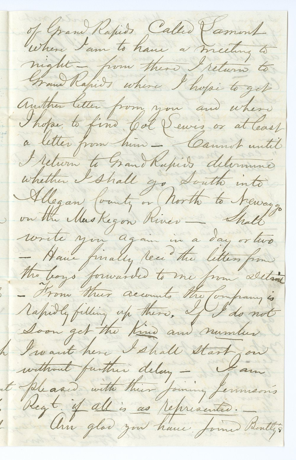 John Brown, Jr. correspondence - 7