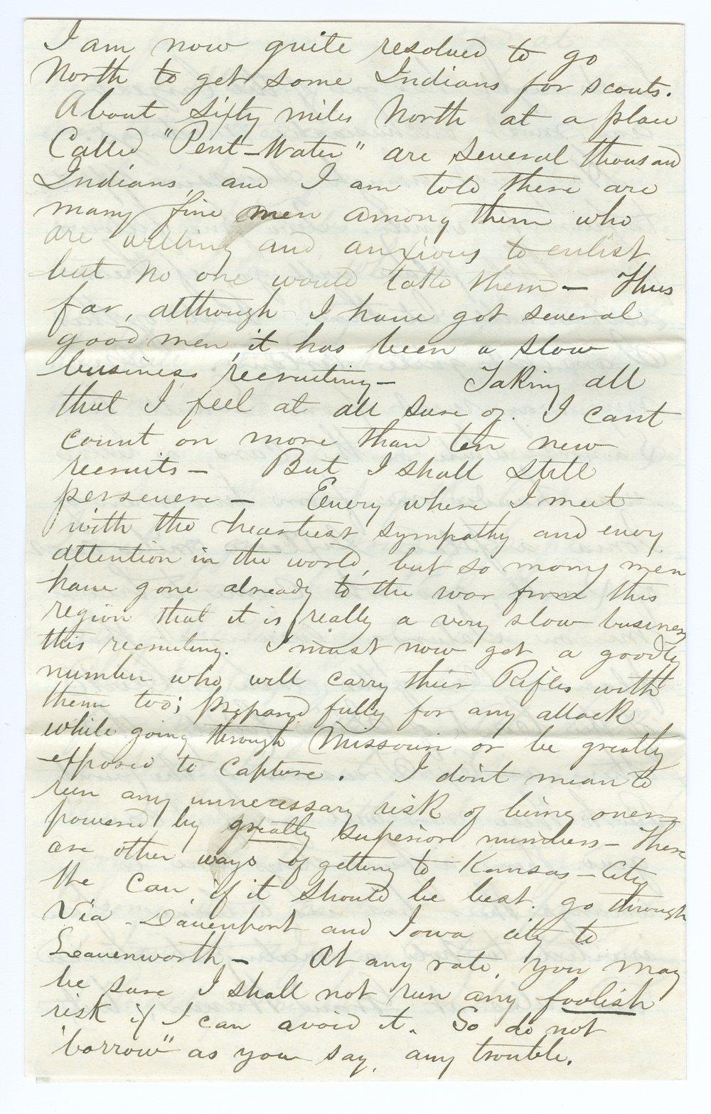 John Brown, Jr. correspondence - 12