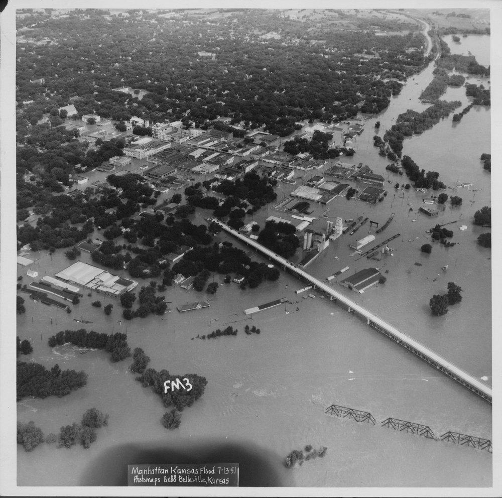 Flood, Manhattan, Kansas