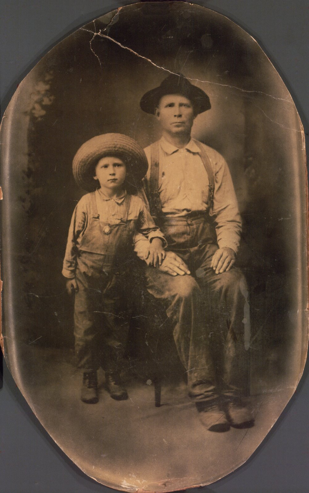 George Wasson and son Roy