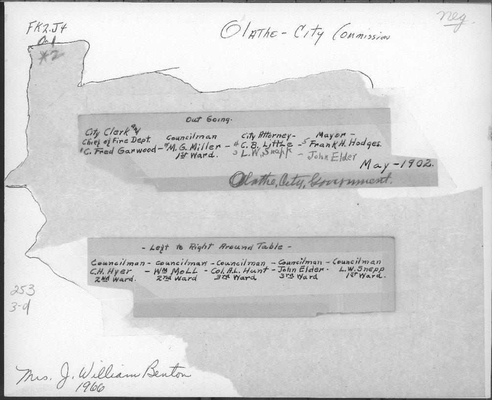 Olathe City Commission, Olathe, Kansas - 2
