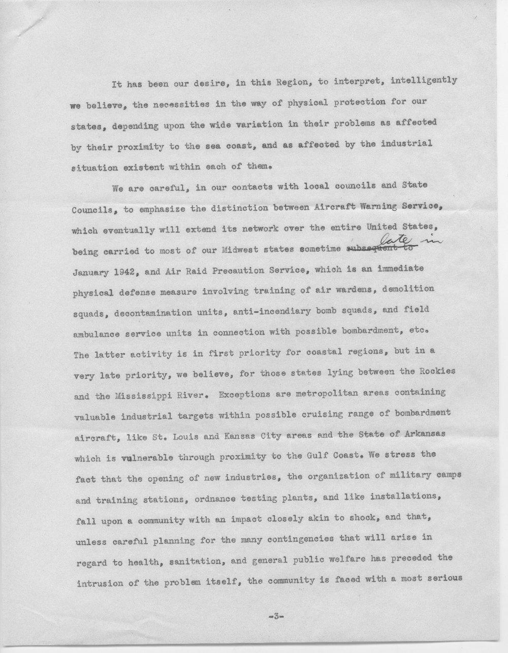 Address by Col. E.L. Wilbur - 3