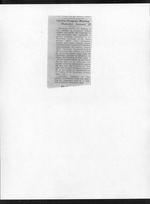 Carl Fredin to Governor Payne Ratner - 6