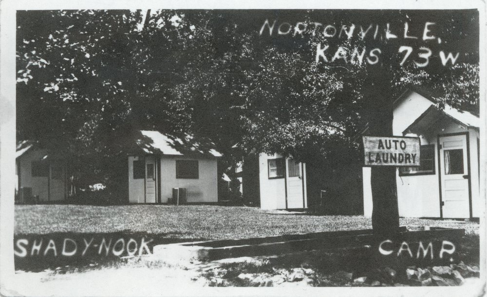 Shady Nook Cabin camp, Nortonville, Kansas