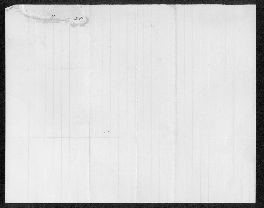 Governor John St. John prohibition received correspondence - 10