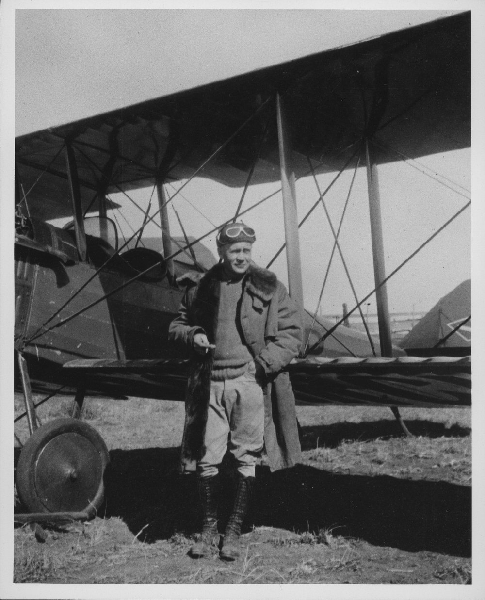 Karl Garver, Garver Flying Circus