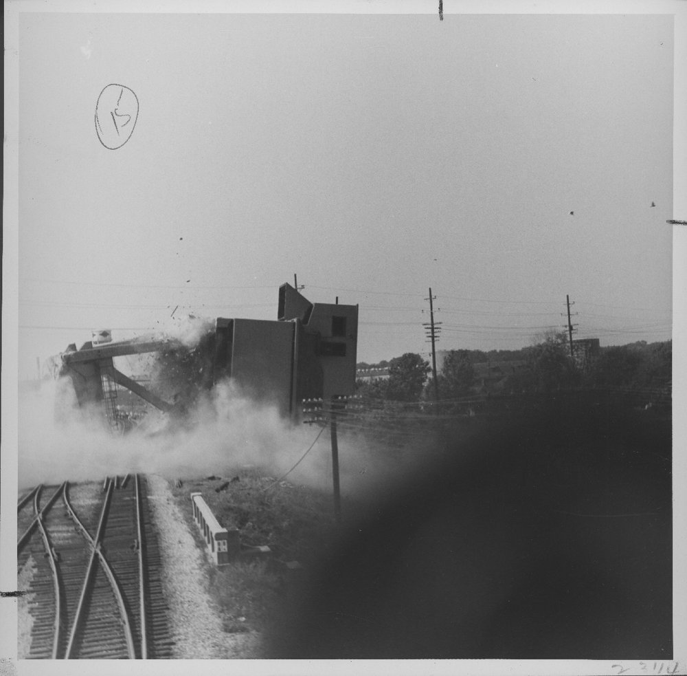 Atchison, Topeka & Santa Fe Railway Company coal chute, Baring, Missouri - 3