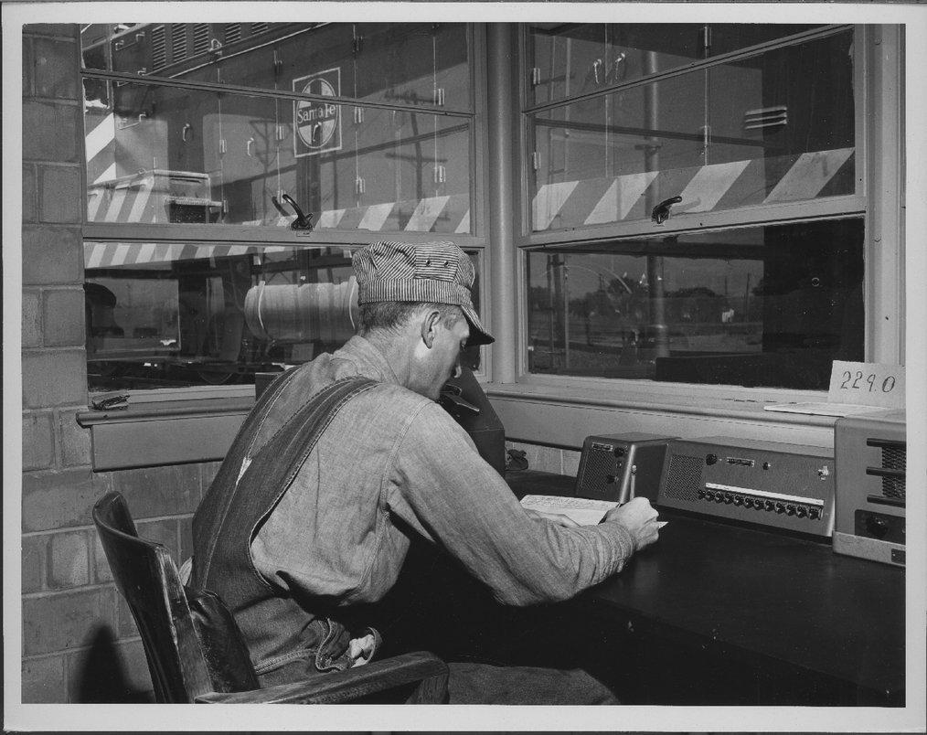 Atchison, Topeka & Santa Fe Railway Company's hump yard, Pueblo, Colorado