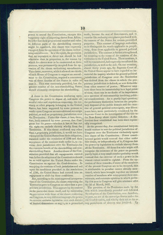 Speech of Congressman John Cadwalader - 10