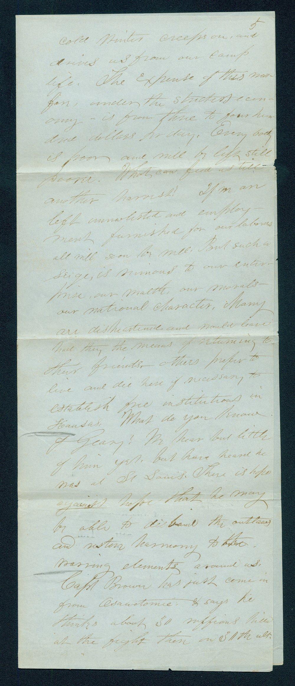 William Hutchinson to Andrew Horatio Reeder - 5