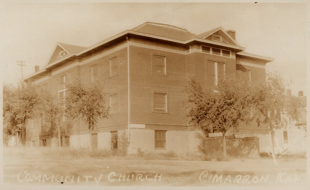 Community Church, Cimarron, Kansas - 2