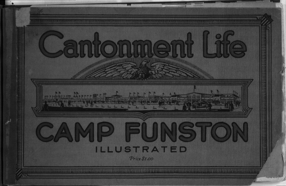 Cantonment life Camp Funston illustrated - Front Cover