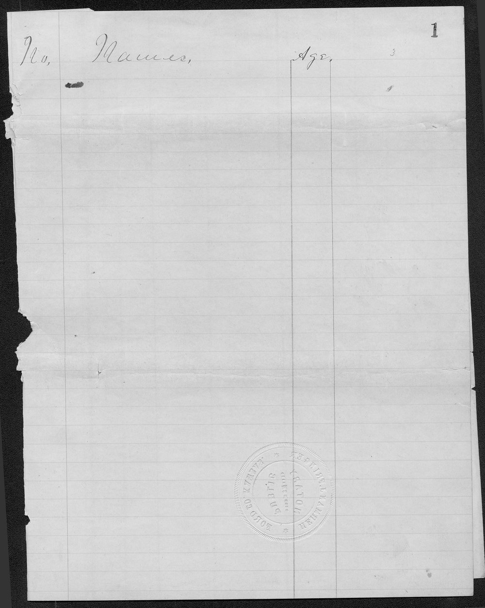 Ford County organization records - 5