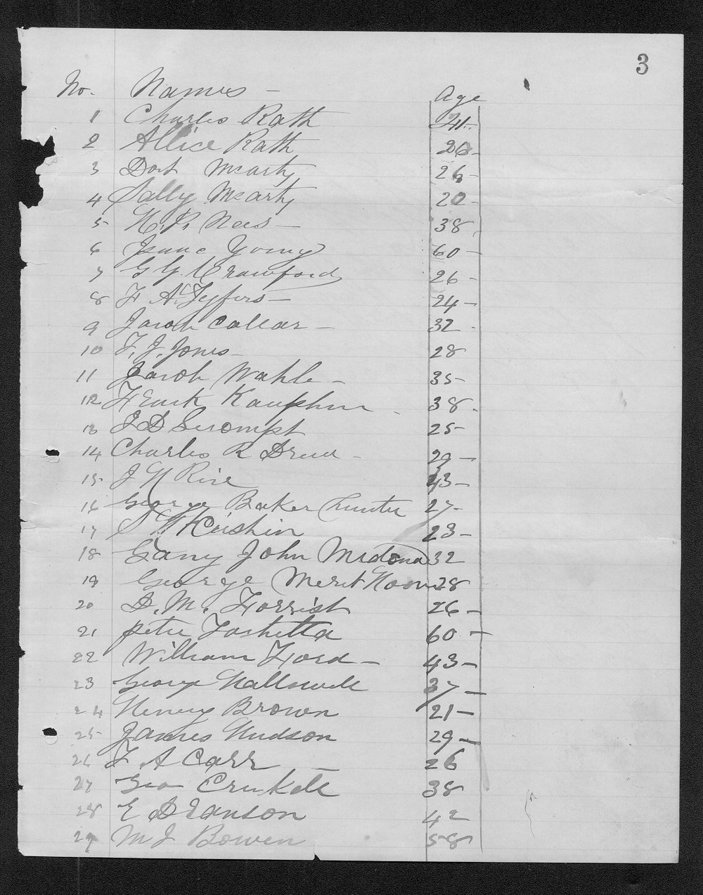 Ford County organization records - 7