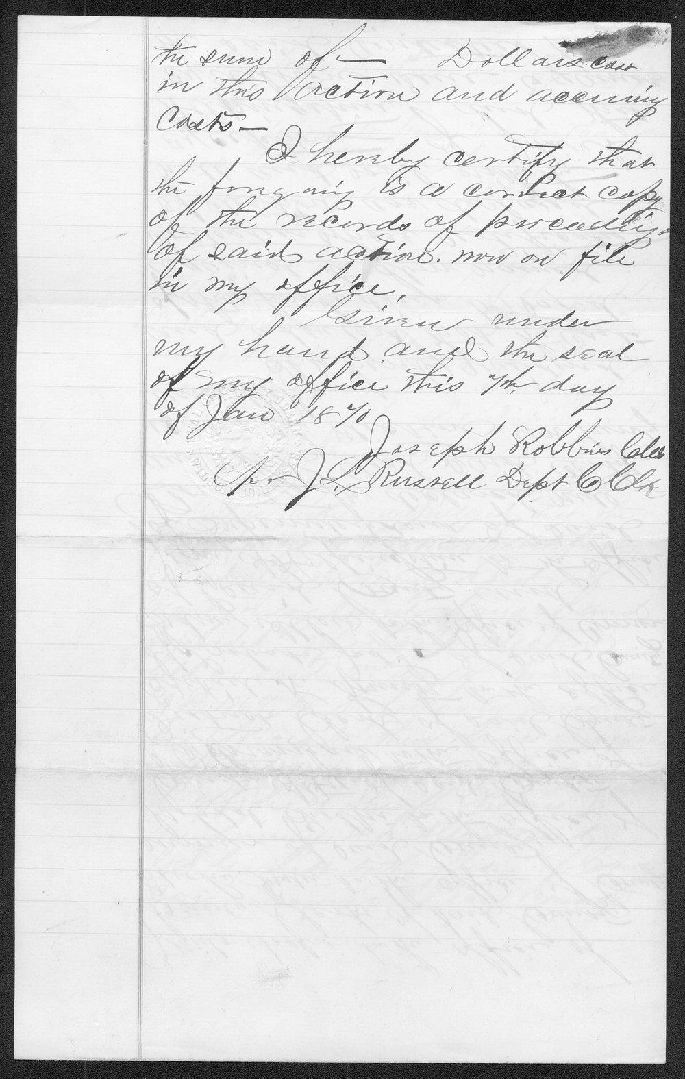 Montgomery County organization records - 8