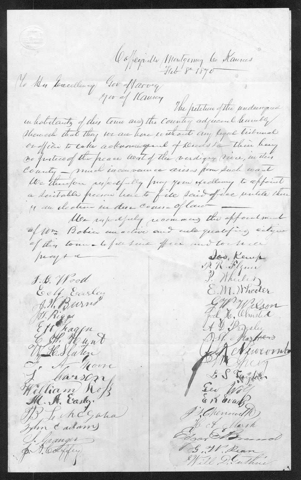 Montgomery County organization records - 11