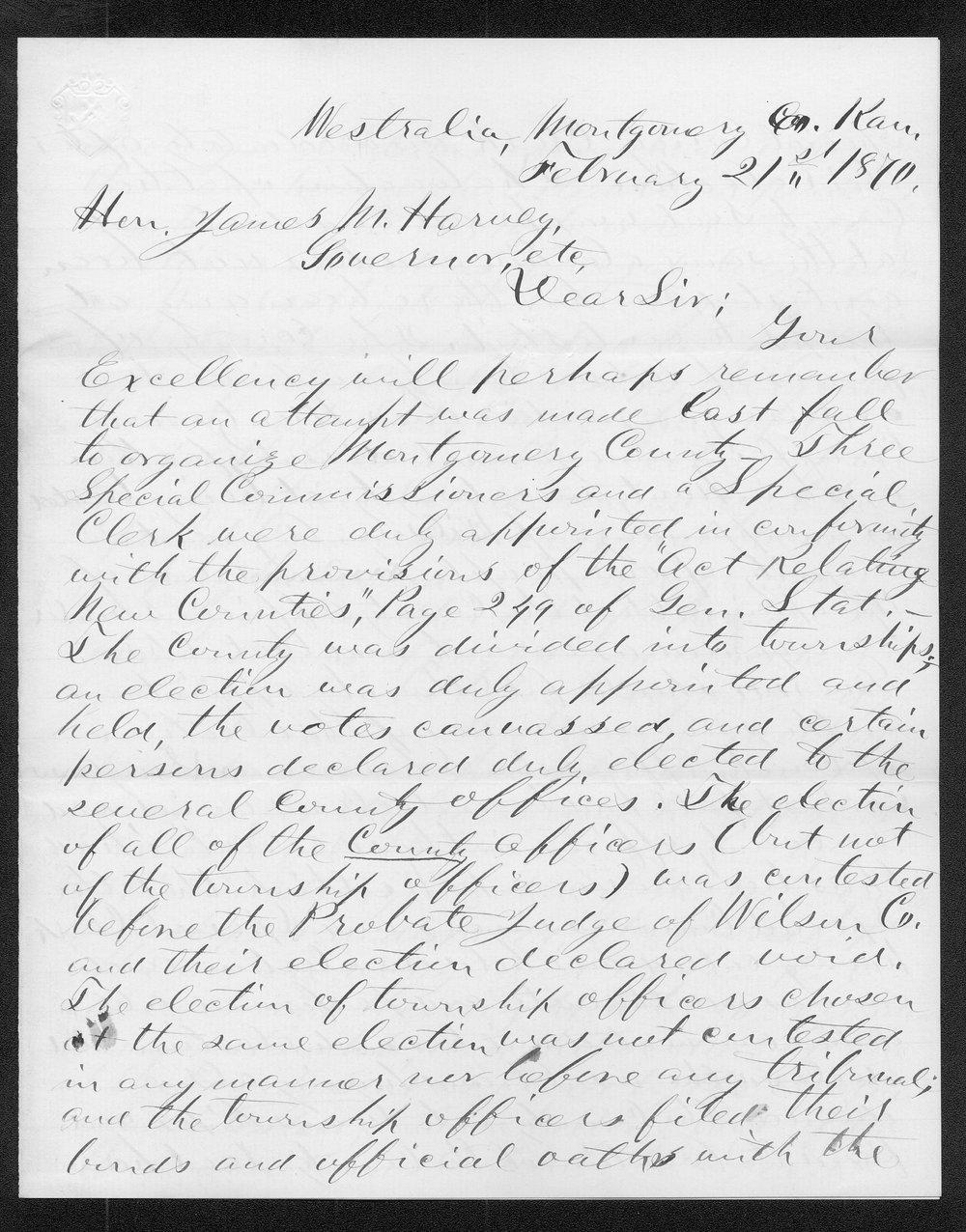 Montgomery County organization records - 12