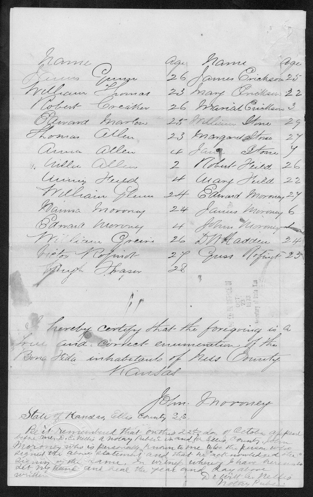 Ness County organization records - 12