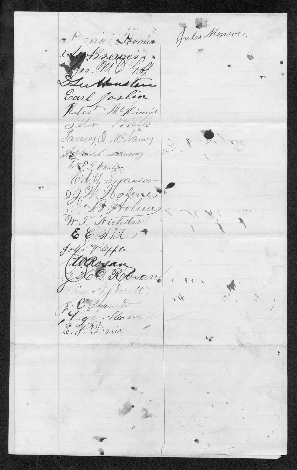 Rice County organization files - 5