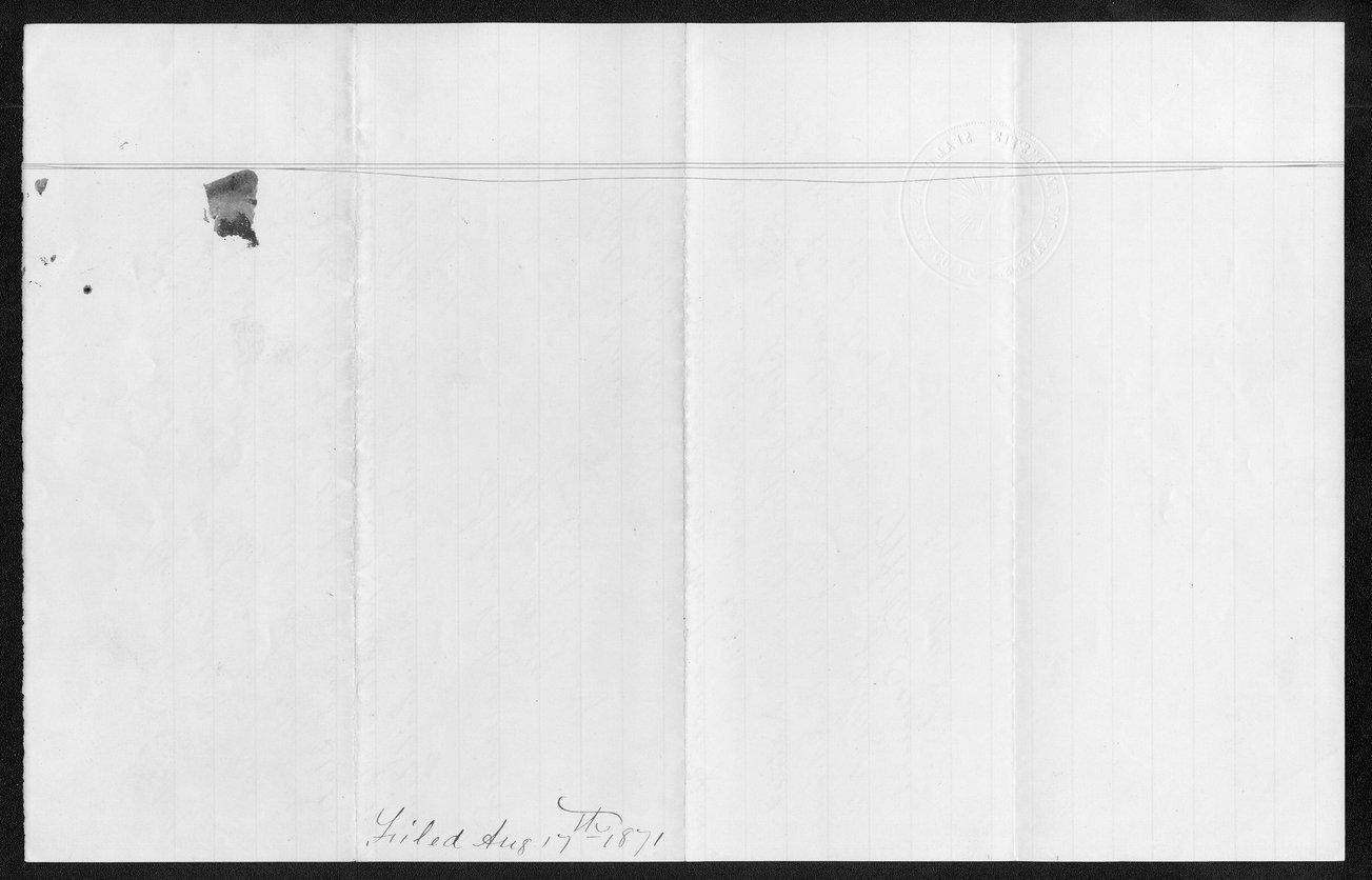 Rice County organization files - 9