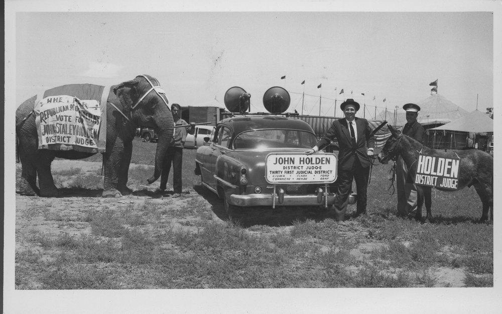 John Staley Holden, Cimarron, Kansas