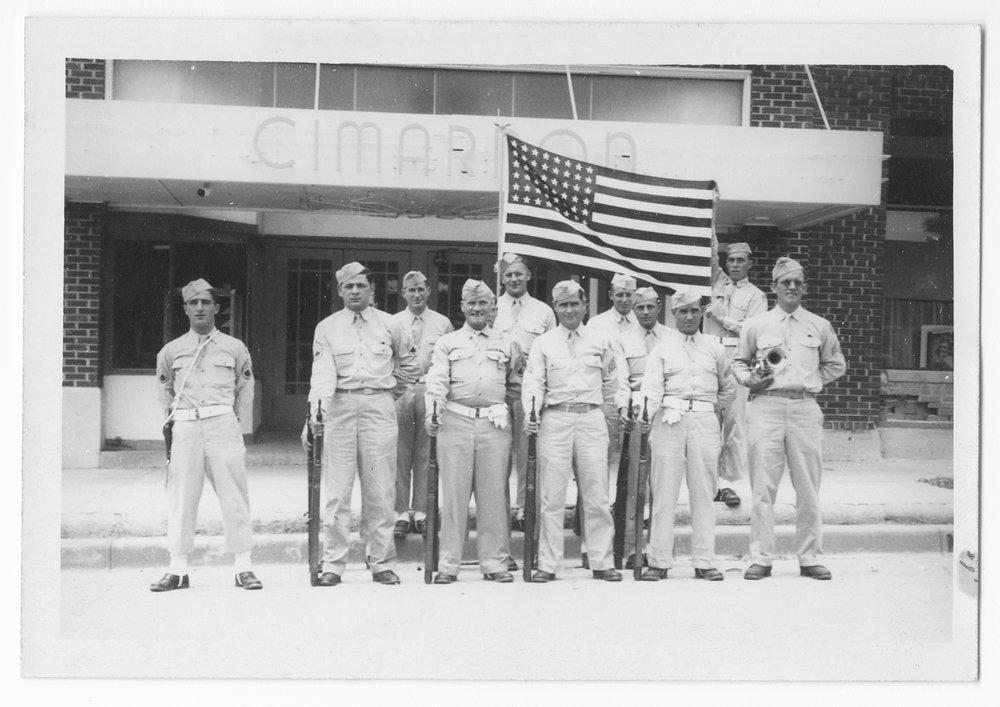 Army unit, Cimarron, Kansas