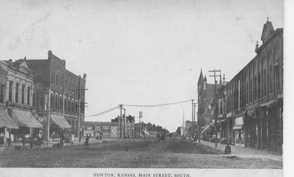 Main Street, Newton, Kansas