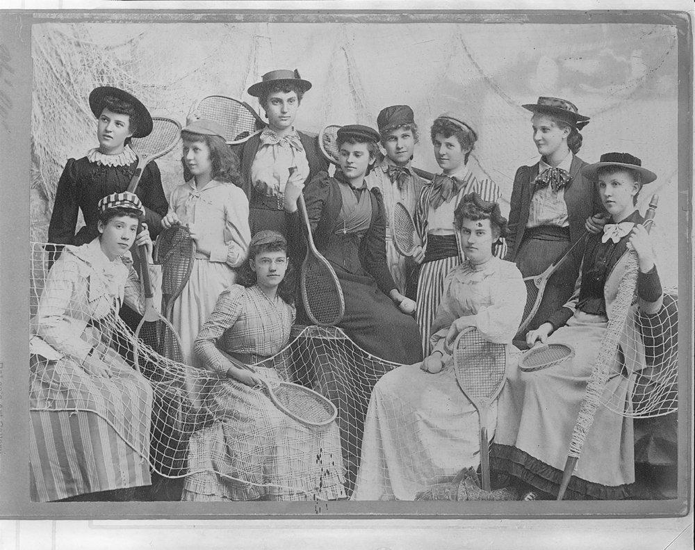 Women's tennis club, Lawrence, Kansas