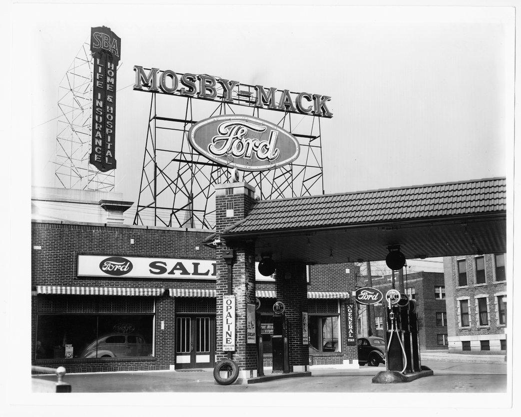 Mosby-Mack Motors, Topeka, Kansas