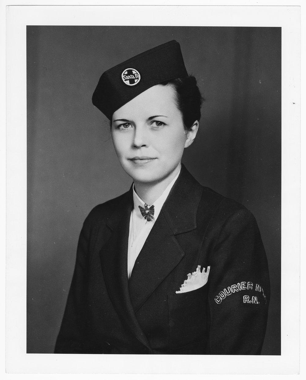 Santa Fe Courier Nurse, Marie J. Verie