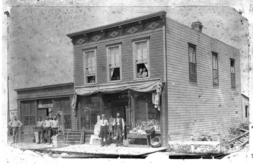 General store and post office, Waseca, Kansas