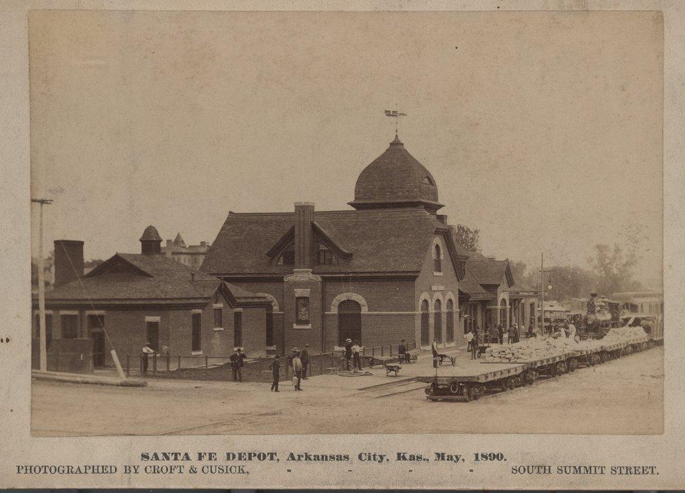 Atchison, Topeka and Santa Fe Railway Company depot, Arkansas City, Kansas