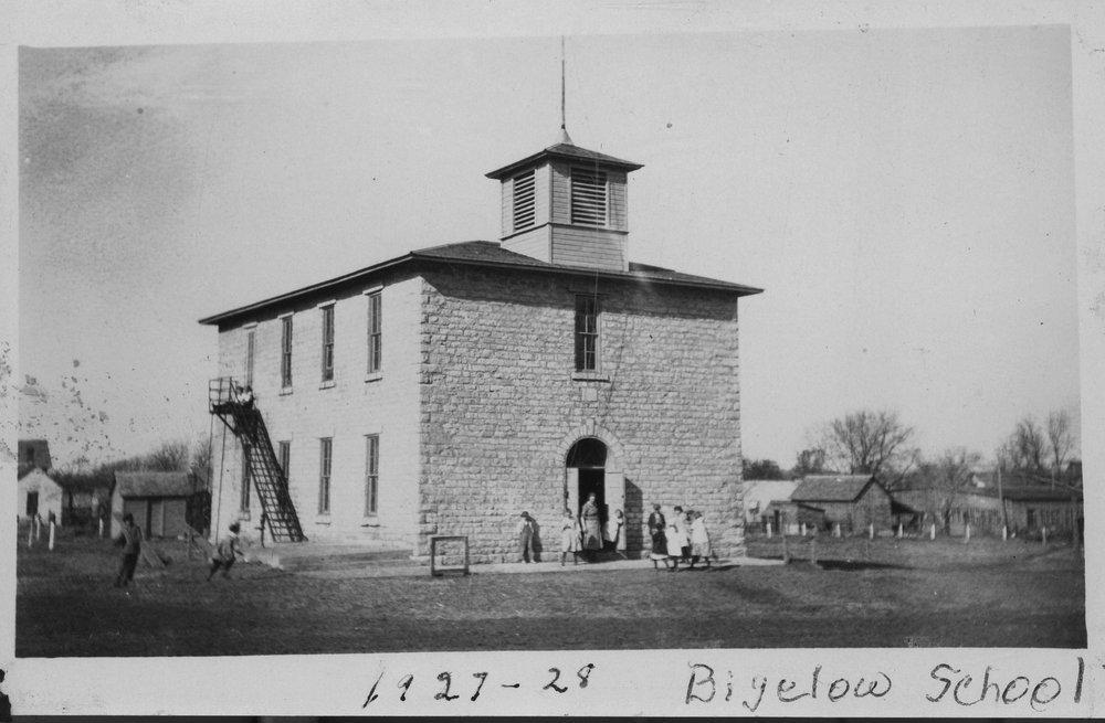 Schoolhouse, Bigelow, Marshall County, Kansas