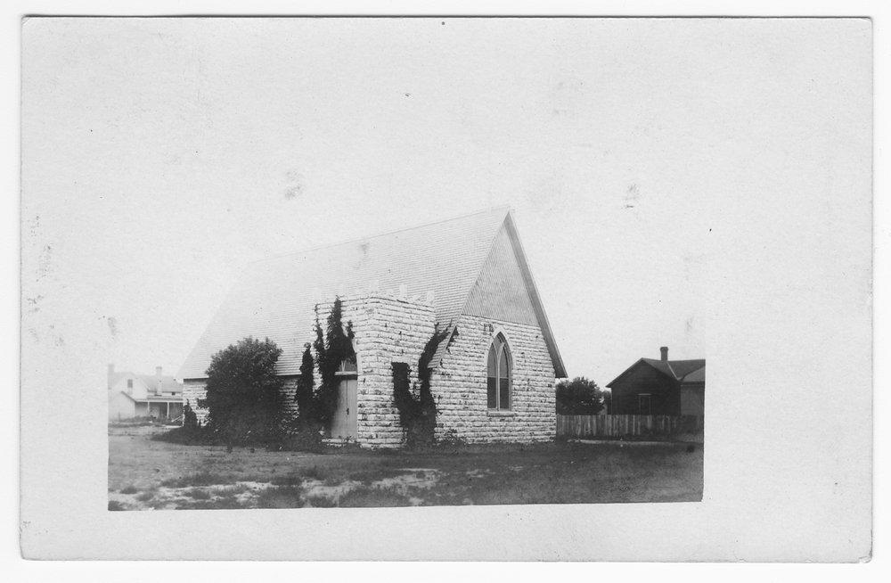 Church, unidentified location