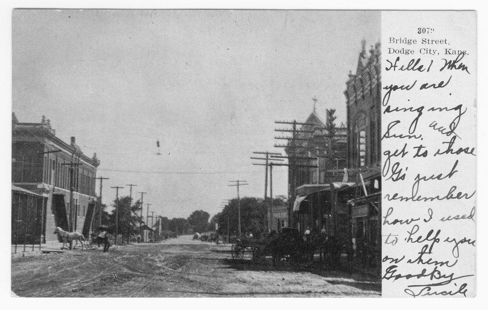 Bridge Street, Dodge City, Ford County, Kansas