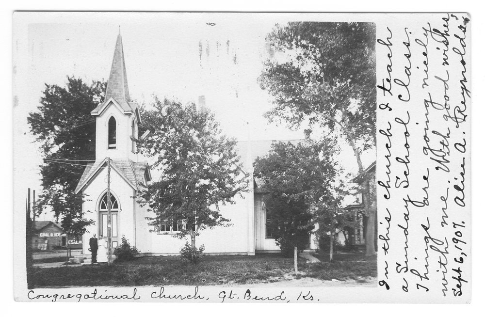 Congregational Church, Great Bend, Barton County, Kansas